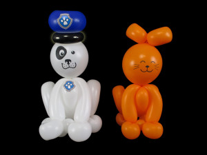line twisting balloon animals