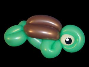 3 balloon turtle