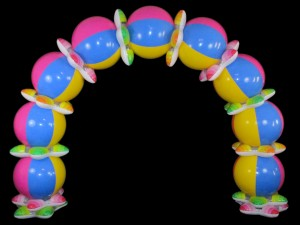 beachball arch